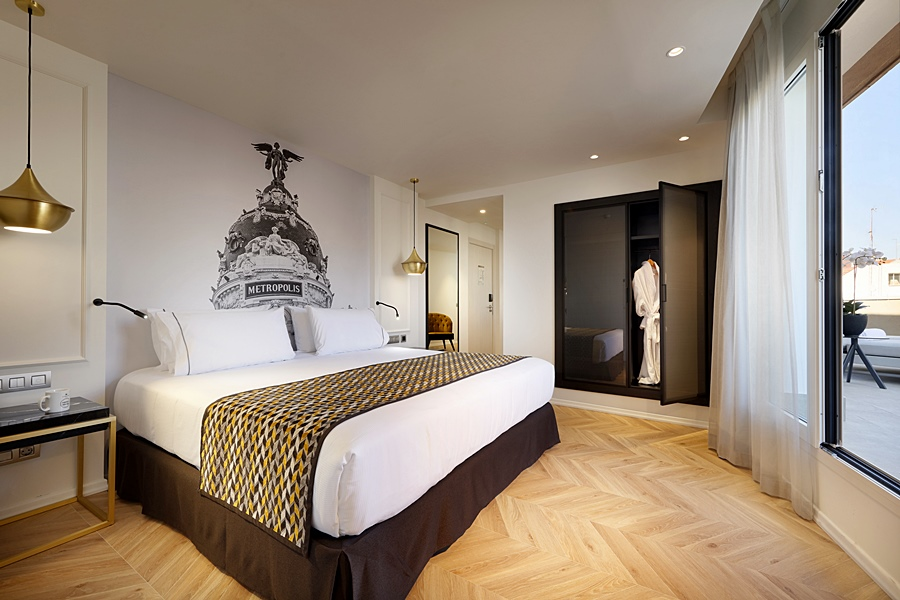 EUROSTARS MADRID GRAN VIA - Hotel cerca del Bar Fun House