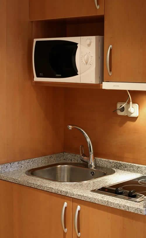 Dormir en Aparthotel Apartosuite Principe Pio en Madrid