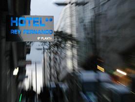 HOTEL REY FERNANDO - Hotel cerca del Aeropuerto de Santiago de Compostela Lavacolla