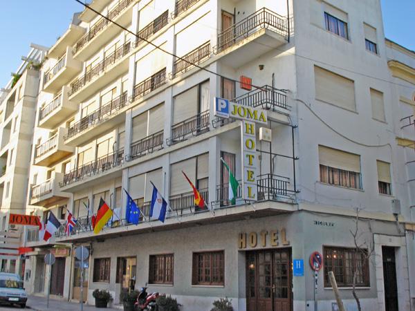 HOTEL JOMA - Hotel cerca del Clínica Serman