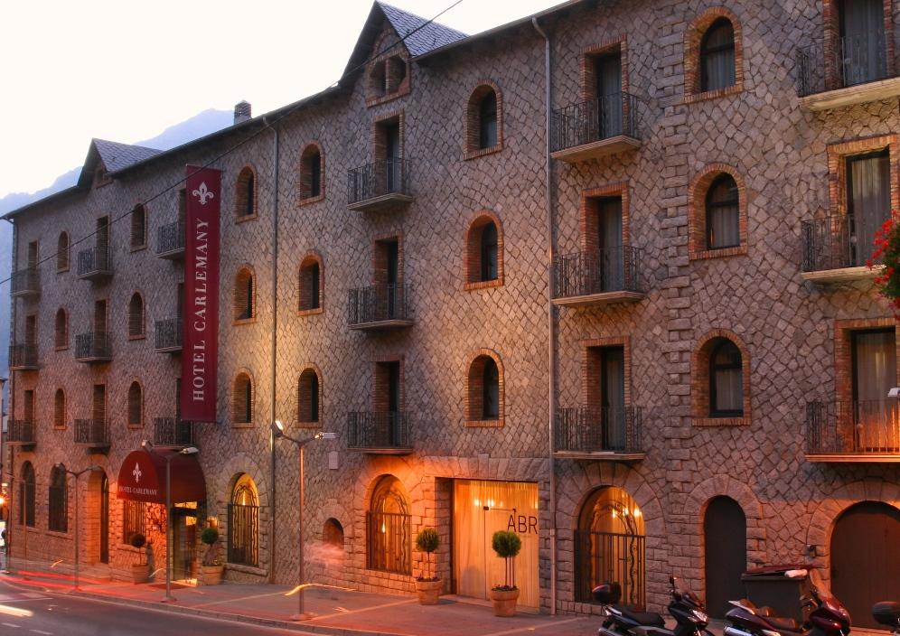 foto del HOTEL HOTEL I TERMES CARLEMANY en LES ESCALDES (ANDORRA). AN