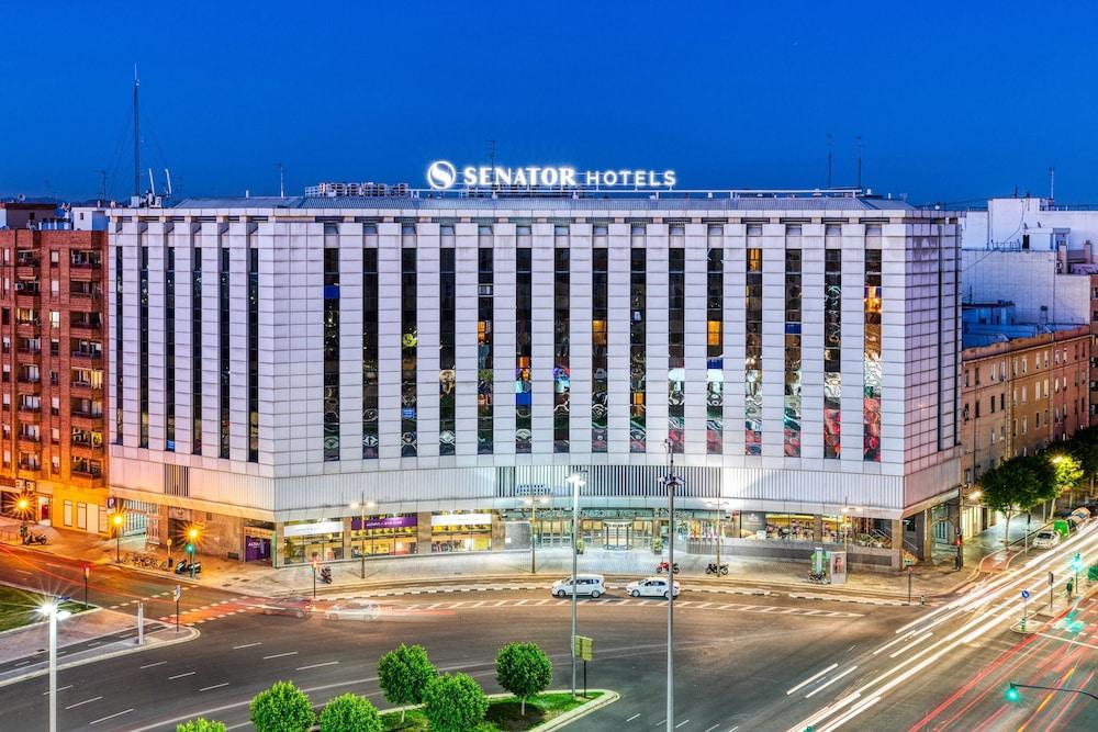 SENATOR PARQUE CENTRAL HOTEL - Hotel cerca del Estación  Joaquín Sorolla