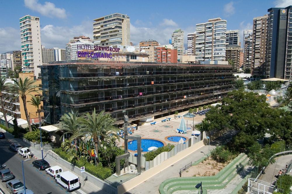 HOTEL SERVIGROUP DIPLOMATIC - Hotel cerca del Playa de Levante de Benidorm
