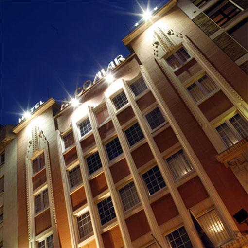 ALCOMAR - Hotel cerca del Estadio El Molinón