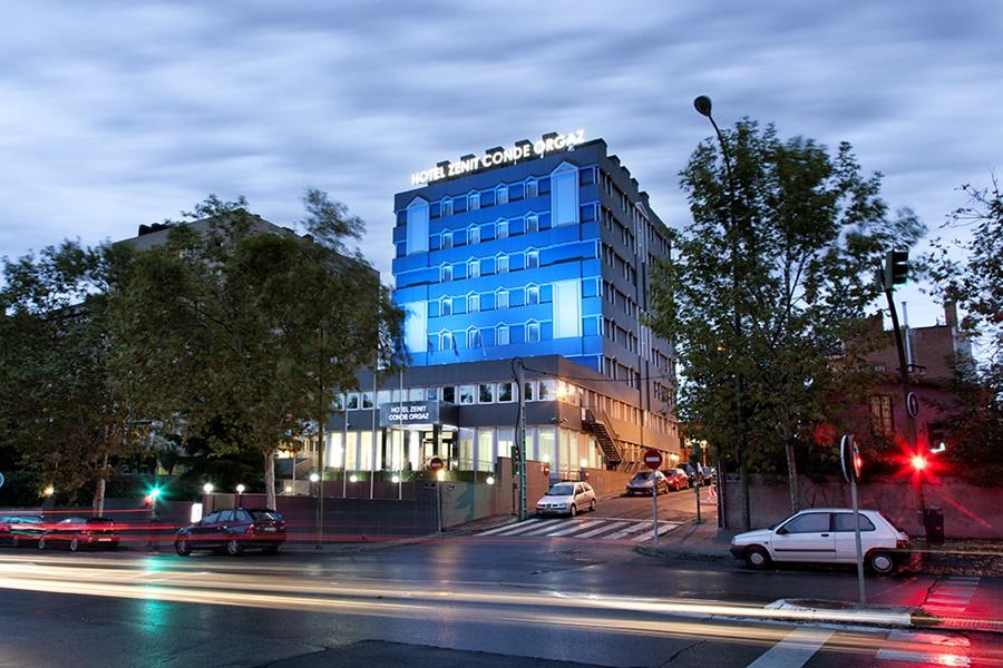 ZENIT CONDE DE ORGAZ - Hotel cerca del Plaza de Toros de Las Ventas