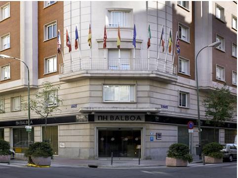NH BALBOA - Hotel cerca del Estadio de la Peineta