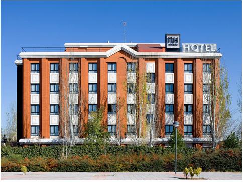 NH CIUDAD DE LA IMAGEN - Hotel cerca del Hospital Gómez Ulla (Carabanchel)