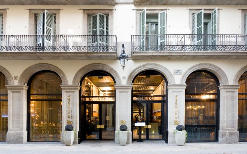 ESPAÑA - Hotel cerca del Bravas en el Bohemic
