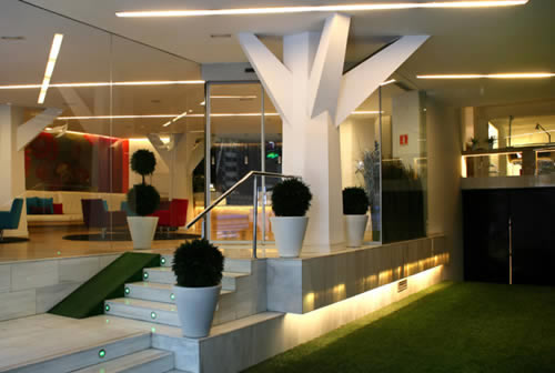 Aparthotel Aptosuite Jardines De Sabatini en Madrid