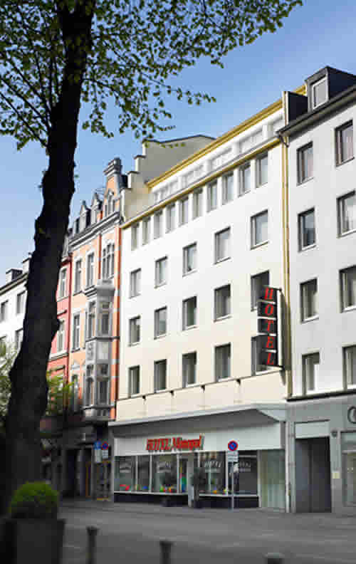 Hotel Monopol en Dusseldorf