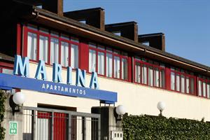 MARINA APARTAMENTOS - Hotel cerca del Aeropuerto de Asturias