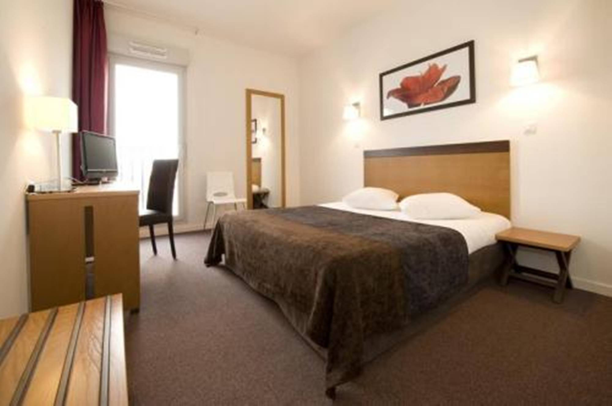 Hotel appart hotel odalys bioparc lyon viajes olympia for Residence hoteliere madrid