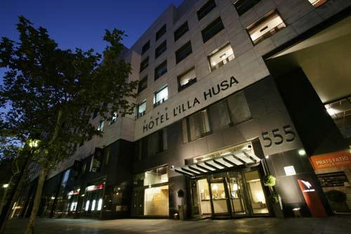 HUSA ILLA - Hotel cerca del Camp Nou