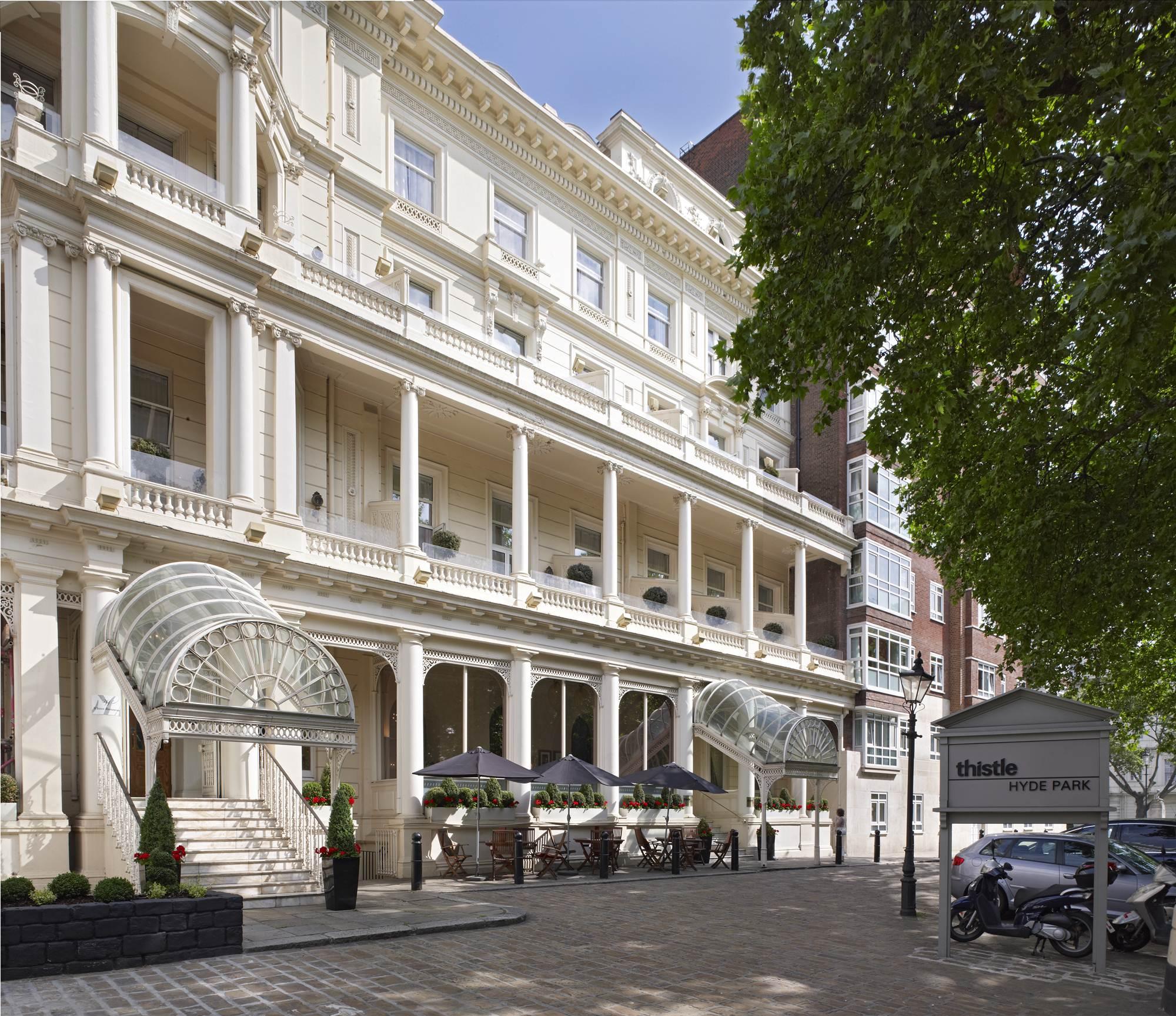 hotel hyde park de londres: