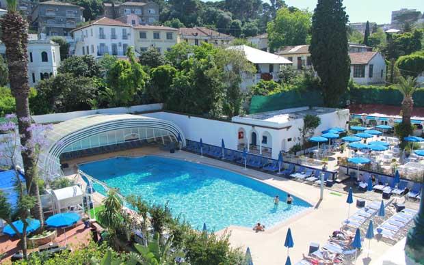 Hotel el djazair en argel for Aquafortland alger piscine