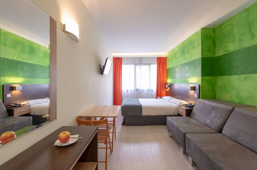 APARTHOTEL SERRANO RECOLETOS - Hotel cerca del Sala Berlanga