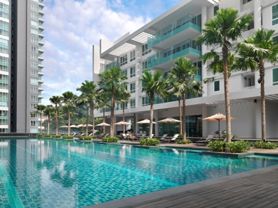 LANSON PLACE BUKIT CEYLON(DLX 3 BEDROOM)