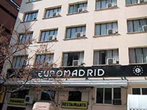 HOSTAL EUROMADRID - Hotel cerca del Puerta del Sol