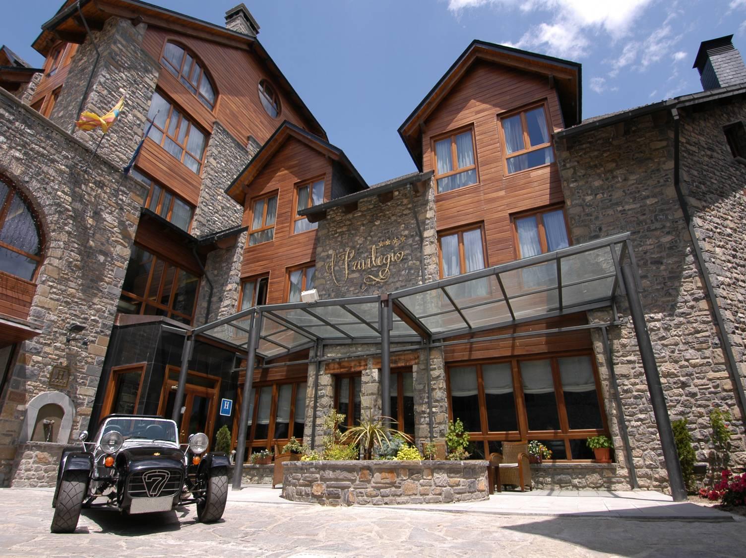 Hotel el privilegio de tena en tramacastilla de tena - Hotel privilegio de tena ...