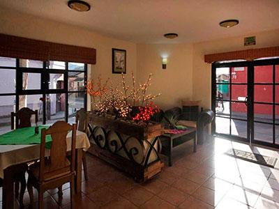 Hotel azulejos san cristobal de las casas desde 83 rumbo for Hotel azulejos
