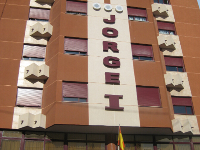 HOTEL JORGE I - Hotel cerca del Club de Golf Bonalba