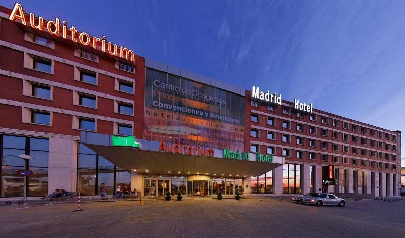 MADRID MARRIOTT AUDITORIUM & CONFERENCE CENTER - Hotel cerca del Estadio de la Peineta