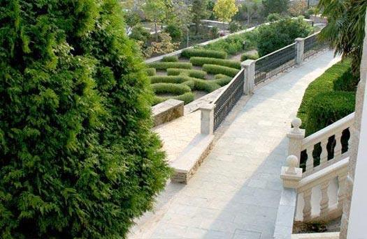 Hotel domus selecta htl y apts pazo do rio en oleiros a for Hotel jardin oleiros