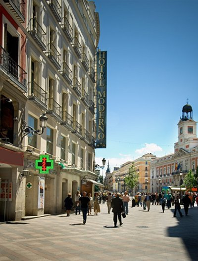 MODERNO HOTEL MADRID - Hotel cerca del Hospital Gómez Ulla (Carabanchel)