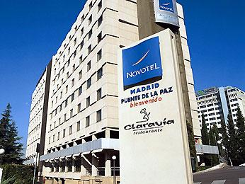 NOVOTEL MADRID PUENTE DE LA PAZ - Hotel cerca del Estadio de la Peineta