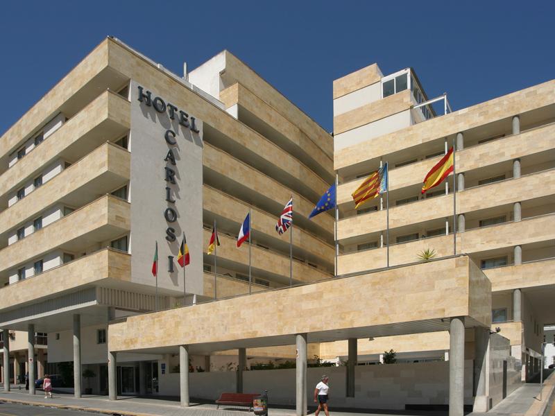 HOTEL CARLOS I - Hotel cerca del Parque Temático Terra Mítica