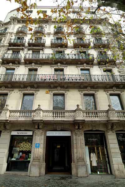 Hotel paseo de gracia barcelona desde 75 rumbo for Hotel gracia barcelona