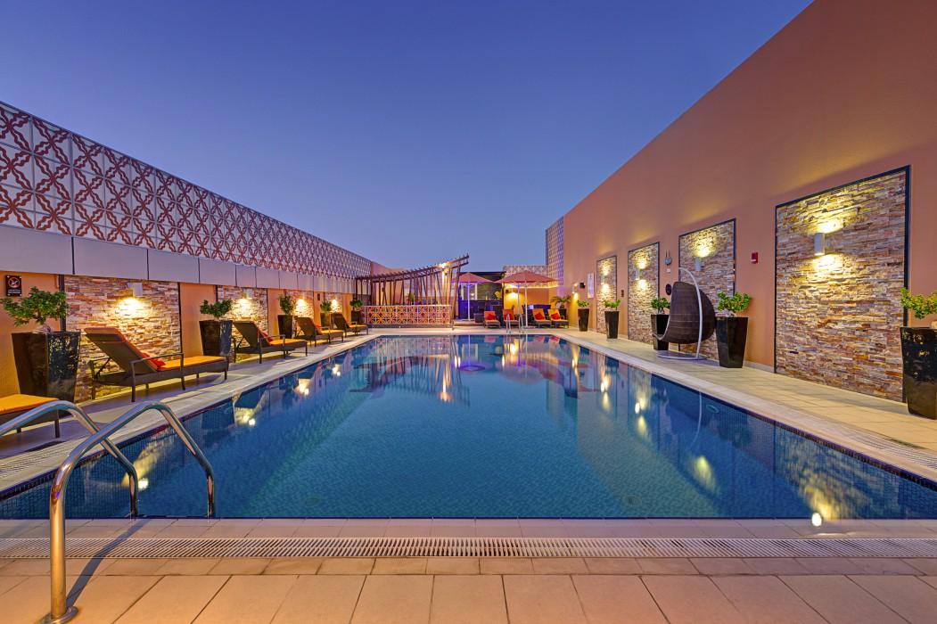 Abidos Hotel Apartments - DubailandUlteriori informazioni sulla sistemazione