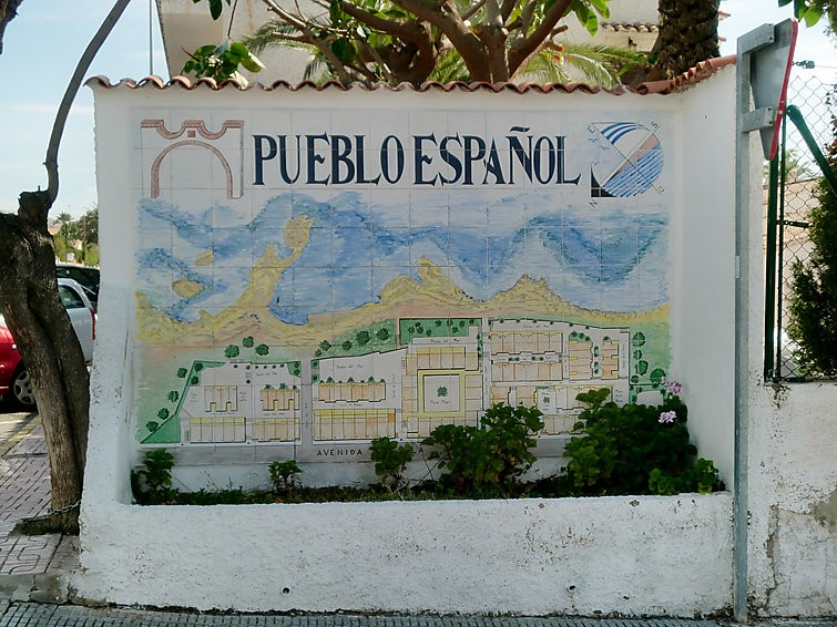 APARTAMENTO EN EL CAMPELLO CON INTERNET, TERRAZA, JARDÍN, LAVADORA - Hotel cerca del Club de Golf Bonalba