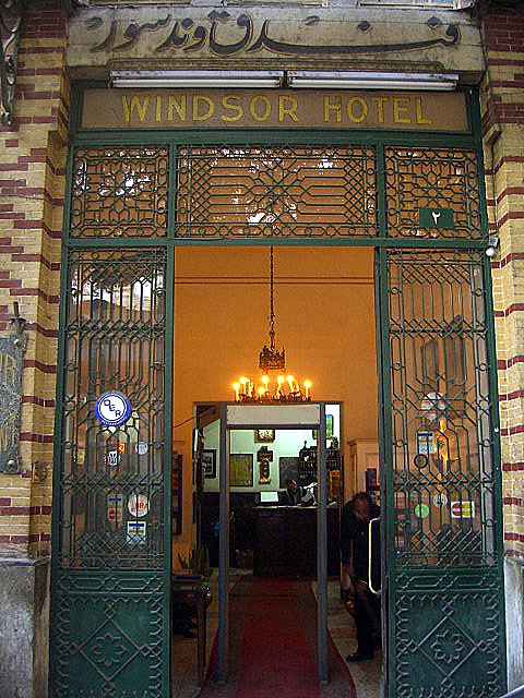 Image result for Windsor Hotel, Cairo
