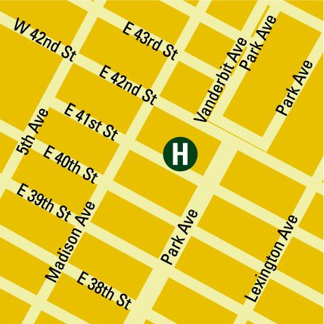 Plano de acceso de Dylan Hotel