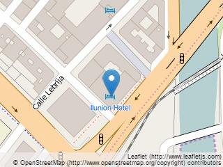 Plano de acceso de Hotel Monte Malaga