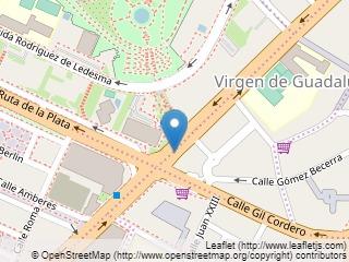 Plano de acceso de Hotel Extremadura