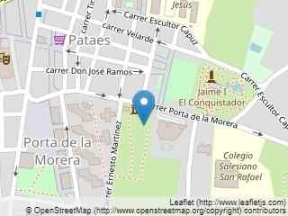 Plano de acceso de Hotel Huerto Del Cura