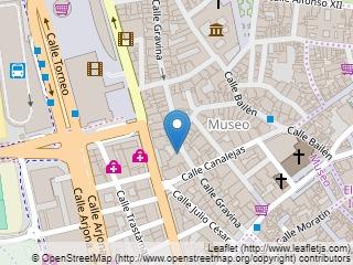 Plano de acceso de Hotel Montecarlo