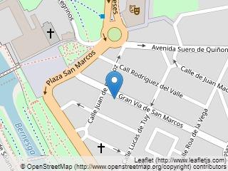 Plano de acceso de Hotel Quindos
