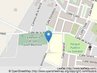 Plano de acceso de Hotel Alboran Chiclana