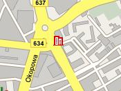 Plano de acceso de Hotel Mercure Warsaw Fryderyk Chopin