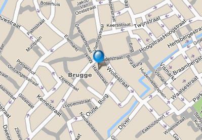 Plano de acceso de Koffieboontje Hotel