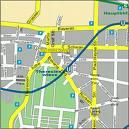 Plano de acceso de Four Points Hotel Munich Central