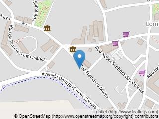 Plano de acceso de Hotel Cinquentenario