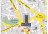 Plano de acceso de Golden Tulip Bucharest Hotel