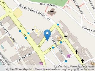 Plano de acceso de Hotel Tivoli Coimbra