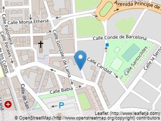 Plano de acceso de Hotel Fc Infantas De Leon