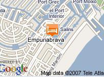 Plano de acceso de Hotel Port Salins
