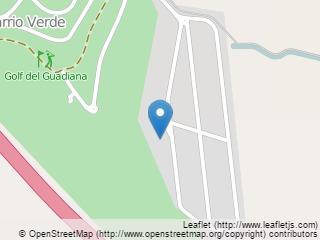 Plano de acceso de Hotel Confortel Golf Badajoz